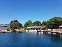 Lago boating de Exmouth Imágenes de archivo libres de regalías