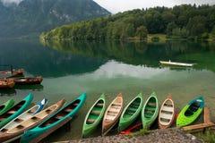 Lago Bohinj Immagini Stock Libere da Diritti