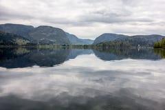 Lago Bohinj Imagens de Stock