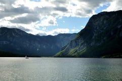 Lago Bohinj Foto de archivo
