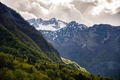 Lago Bohinj, Eslovênia, Europa Fotos de Stock
