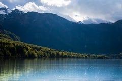 Lago Bohinj, Eslovênia, Europa Fotografia de Stock Royalty Free