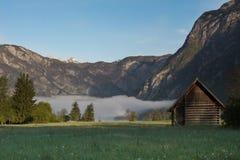 Lago Bohinj, Eslovênia, Europa Imagem de Stock Royalty Free