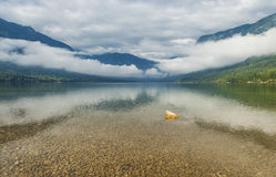Lago Bohinj, Eslovenia Fotos de archivo