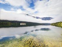 Lago Bohinj mountain nelle alpi slovene Fotografia Stock