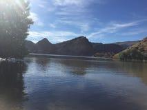 Lago Boison fotografie stock