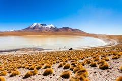 Lago, Bolivia Altiplano Fotos de archivo libres de regalías