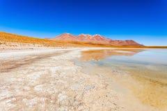 Lago, Bolivia Altiplano Foto de archivo libre de regalías