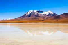 Lago, Bolivia Altiplano Imagen de archivo libre de regalías
