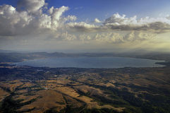Lago Bolsena Fotografia Stock Libera da Diritti