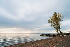Lago Bolsena immagini stock libere da diritti