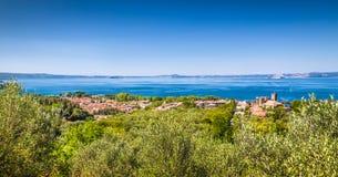 Lago Bolsena, provincia de Viterbo, Lazio, Italia Fotografía de archivo libre de regalías