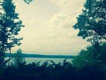 Lago bonito fotografía de archivo