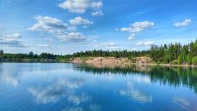 Lago bonito fotografia de stock royalty free