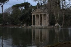 Lago bonito em Itália Imagens de Stock