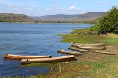 Lago bonito em Tailândia do norte Foto de Stock