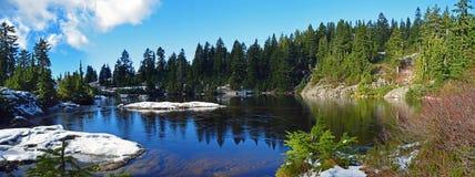 Lago bonito mystery Imagens de Stock