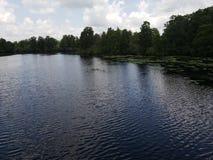 Lago, bonito, oh uau, dia bonito imagens de stock royalty free