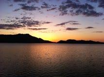 Lago Borovoe em Cazaquistão Imagens de Stock