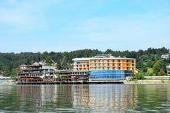 Lago Bosnia Modrac Fotografia Stock