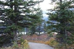 Lago bow che fa un'escursione percorso Immagini Stock Libere da Diritti