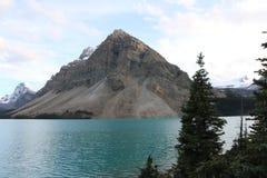 Lago bow di Banff Immagini Stock Libere da Diritti