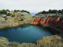Lago Boxite, Itália fotografia de stock royalty free