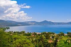 Lago Bracciano Immagini Stock Libere da Diritti