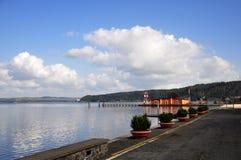 Lago Bracciano Immagine Stock