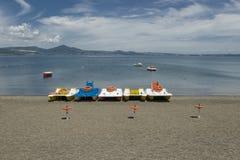 Lago Bracciano, Lazio, Italy Fotografia de Stock