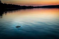 Lago branco Fotografia de Stock