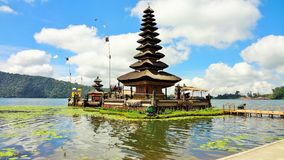 Lago Bratan, Bali Indonesia Foto de archivo libre de regalías