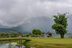 Lago Bratan, ilha de Bali, Indonésia fotos de stock royalty free