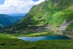 Lago Brebeneskul mountain Immagini Stock