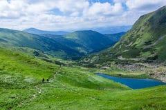 Lago Brebeneskul mountain Fotografia Stock