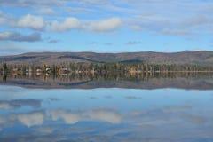Lago Brich alla strada principale 3 dell'Alaska Immagine Stock