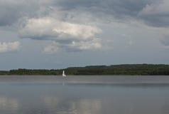 Lago Brombach Foto de archivo