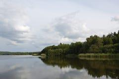 Lago Brombach Imágenes de archivo libres de regalías