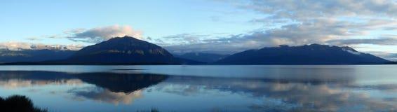 Lago Brunner Fotografie Stock