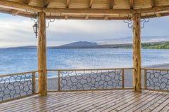 Lago buenos Aires, Los Antiguos, Argentina Fotografia Stock Libera da Diritti