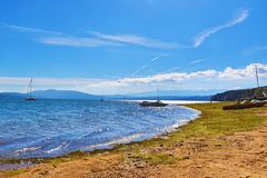 Lago Bulgária Iskar imagem de stock royalty free