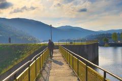 Lago Bulgaria Pancharevo Fotografia Stock