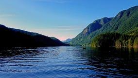 Lago Buntzen, Columbia Britânica Canadá Fotos de Stock