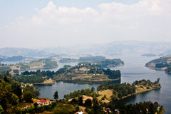 Lago Bunyonyi Imágenes de archivo libres de regalías