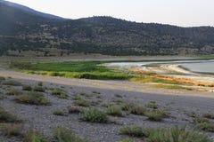 Lago Burdur Foto de Stock Royalty Free