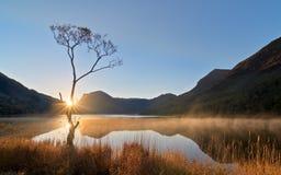 Lago Buttermere, distrito del lago Foto de archivo