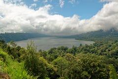 Lago Buyan en Bali Foto de archivo libre de regalías