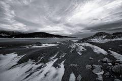 Lago Bw in Bulgaria Immagine Stock Libera da Diritti