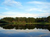 Lago Bykovo fotografia stock