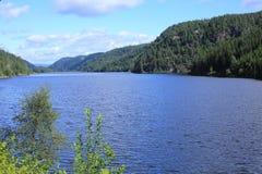 Lago cênico em Noruega Imagem de Stock Royalty Free
